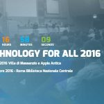 VI ASPETTIAMO AL TECHNOLOGY FOR ALL